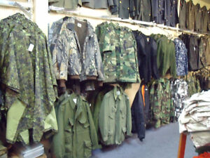 Military Surplus Clothing and Gear