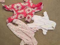 Baby Clothes - Pram Suits x 3