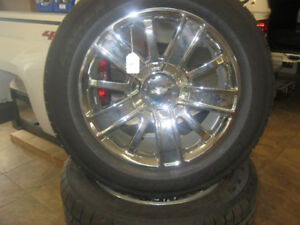 chevrolet high country 20'' wheels and tires
