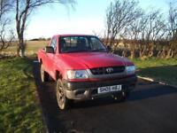 Toyota Hilux 4x4 2.5 Diesel Rare single cab FSH Bennett Van Sales Ormskirk