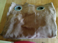 Light Brown Drapery Panels