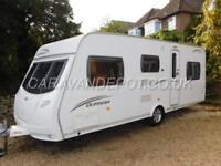 Lunar QUASAR 546, 2010, 6 Berth, Fixed Bunks, Double Dinette, Truma Motor Movers