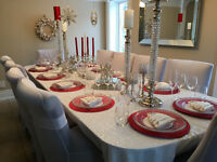 Exclusive At Home Dinner Parties and Dessert Tables