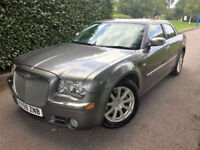 2009 09 CHRYSLER 300C 3.0 CRD V6 AUTOMATIC ONLY 53000 MILES GREAT VALUE !!