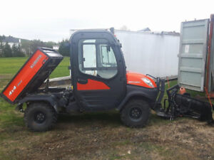 side by side kubota diesel