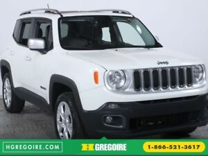 2015 Jeep Renegade Limited 4WD AUTO CUIR TOIT BLUETOOTH