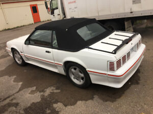 1988 Ford Mustang GT convertible 5 litre