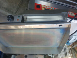 Stainless Steel Flat Grill BRAND NEW