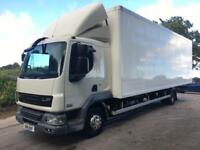 2011 61 DAF LF 45.180 12T euro5 27ft fridge box, carrier xarios 600 unit