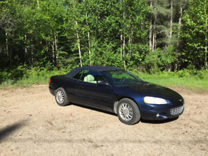 2002 Chrysler Sebring Convertible Limited Edition