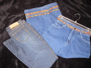 girls size 7 jeans set of two