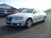 57 AUDI A6 2.0 TDI SE 140 6 SPEED SALOON SILVER 2 OWNERS