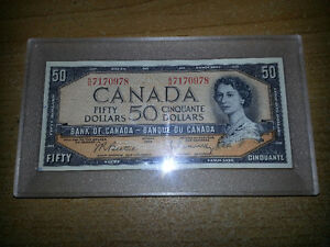 LOOKING FOR OLD CANADIAN PAPER MONEY FROM 1988 OR EARLIER. London Ontario image 9