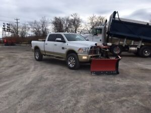 2012 ram 2500 longhorn with plow