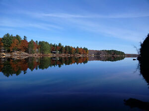 Waterfront Lot For Sale on Kennebec Lake
