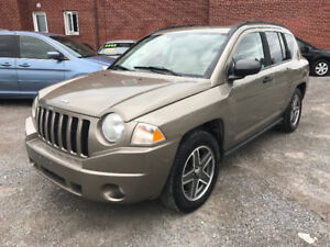 2007 Jeep Compass Sport 4X4 Loaded Certified/E-tested