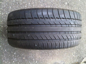 1 x 225/40/18 MICHELIN pilot sport ZP RUN FLAT tire %85 tread
