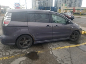 2007 mazda 5 with 6 seater