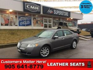 2010 Lincoln MKZ Base  LEATHER  SUNROOF P/SEATS HS