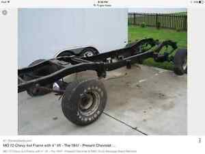 Looking for 67-72 4x4 shortbox frame!  can be rusted and bare!