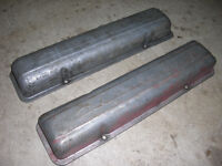 Vintage Chevrolet Valve Covers with Script SBC