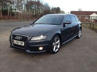 Audi A4 Avant S line 2.0tdi 185bhp , bang + olafson sound system (px available)