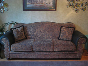 Couch, chair & loveseat