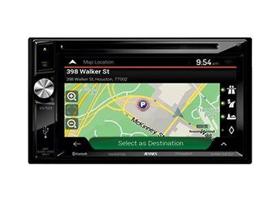 "Jensen VX7023 6.2"" Double-Din Navigation DVD/CD/MP3 Car Stereo Receiver +AUX/USB"