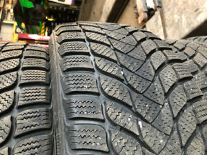 4 Winter tires size 205/55/R16 good condition