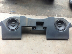 02-16 Dodge Ram MTX sub box and 10 inch subs