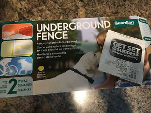 Underground fence/ bark collar