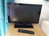 """Toshiba 18"""" LCD TV and DVD player"""