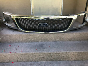 Ford F-150 2002 chrome grille fit 1997 to 2002