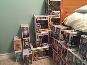 Various Funko Pops - DC Heroes, Marvel, Games, Game of Thrones