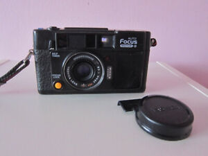 Yashica AutoFocus Motor-D w 38mm f2.8 Lens; Non-functional Flash