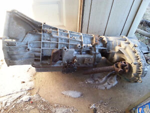 2000 ford expedition motor and trans complete
