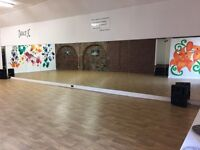 Large hall/studio for hire