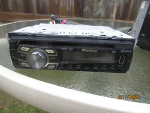 Clarion Thumpers and Radio cd player.