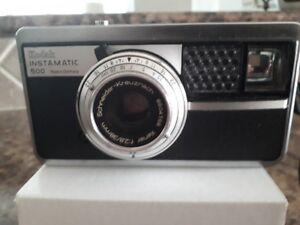 Kodak Instamatic Camera 500