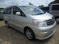 TOYOTA ALPHARD, 2005, 3.0, 56K MILES, AUTOMATIC IN SILVER