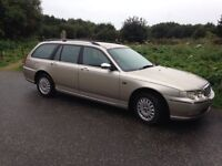 Rover 75 Diesel Estate Auto full MOT