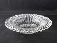 Vintage Miss America Clear Depression Glass Cereal Bowls