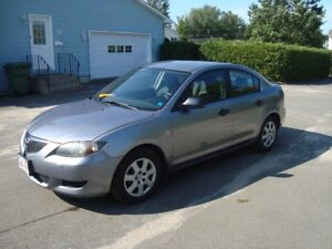 2005 MAZDA 3 4DR SEDAN $3000 TAX IN CHANGED INTO UR NAME