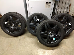 """17"""" VW rims with Michelin X-Ice Winter Tires"""