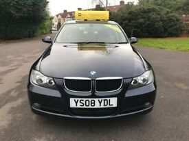 BMW 3 SERIES 320d SE (blue) 2008