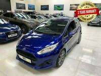 2017 Ford Fiesta 1.0 ST-LINE 3d 100 BHP Hatchback Petrol Manual