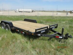 2017 Iron Bull Trailers EQ14 16'