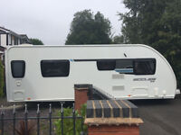===SWIFT STERLING ECCLES LUX 584 2012 CARAVAN===