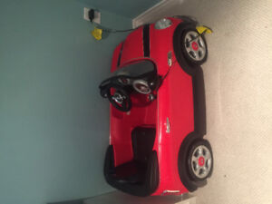 Electric Red Mini Toy Car