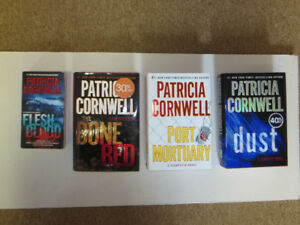 4 Novels by author Patricia Cornwell